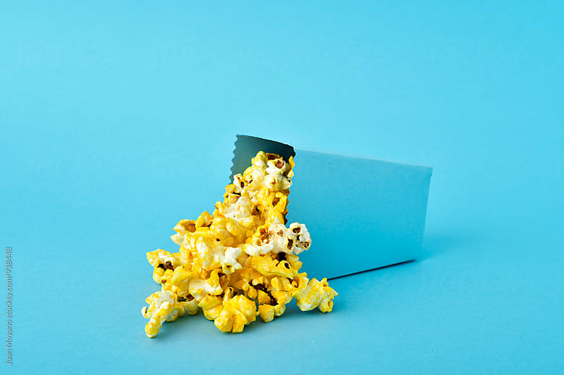 popcorn time by juan moyano for Stocksy United