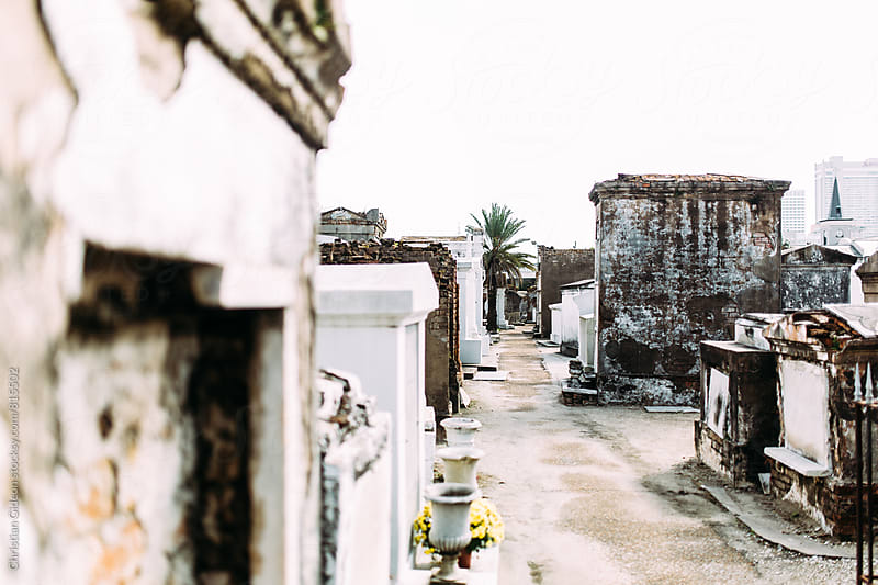 Old cemetery in New Orleans by Christian Gideon for Stocksy United
