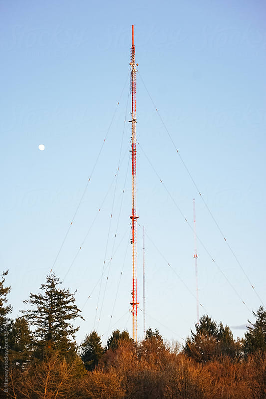 Radio Towers by B. Harvey for Stocksy United