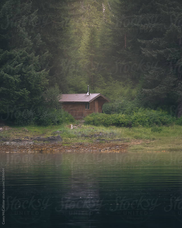 Alaska Cabin by Casey McCallister for Stocksy United