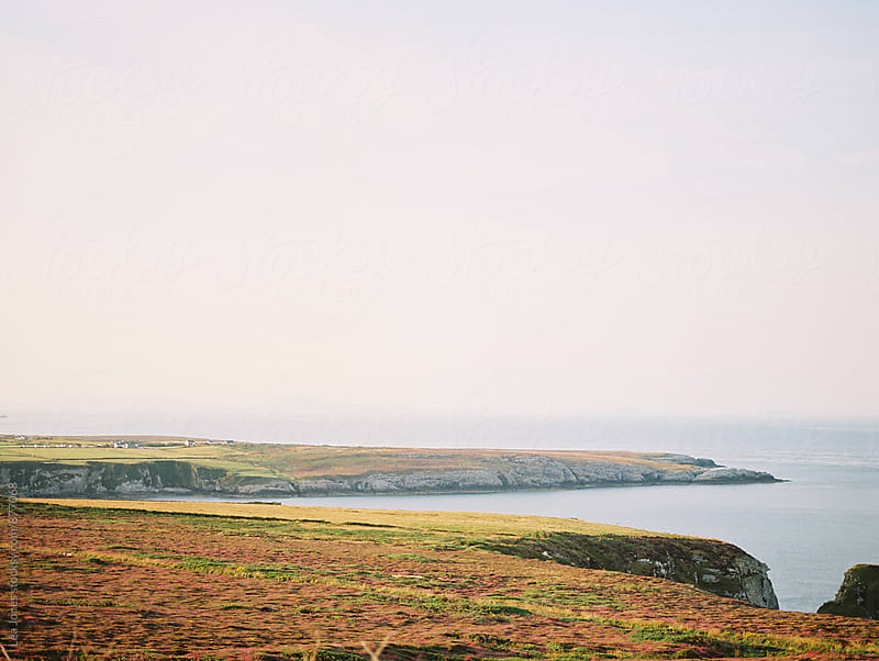 early morning landscape by the sea by Léa Jones for Stocksy United