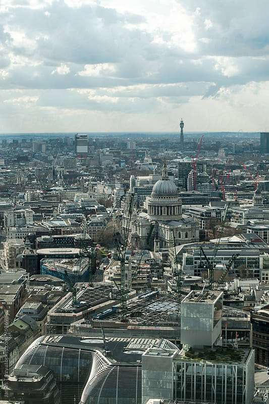 London Cityscape by James Tarry for Stocksy United