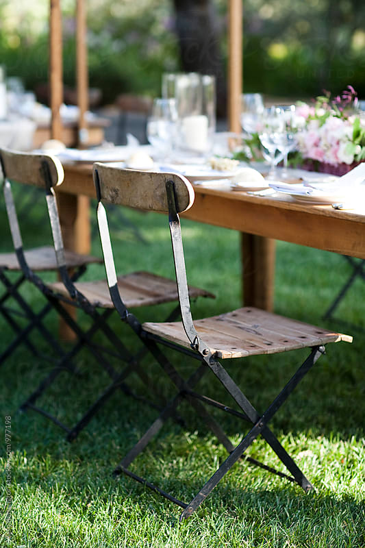 Garden Table by Sara Remington for Stocksy United