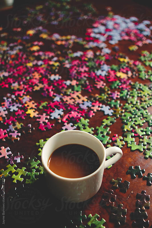 Morning Puzzle by Jayme Burrows for Stocksy United