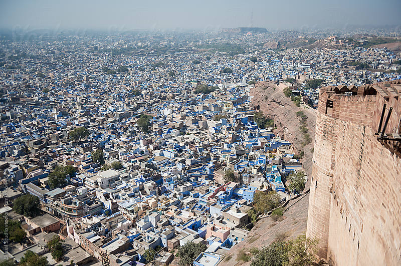Views of Jodphur and the fort, India by Bisual Studio for Stocksy United