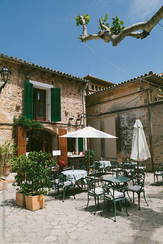 Valdemossa Village, Majorca by VICTOR TORRES for Stocksy United