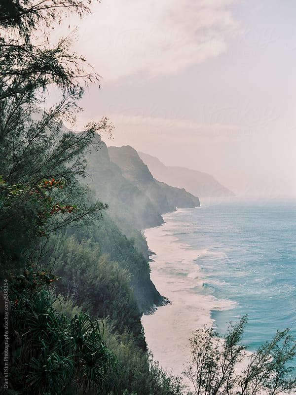 Tropical coastline by Daniel Kim Photography for Stocksy United