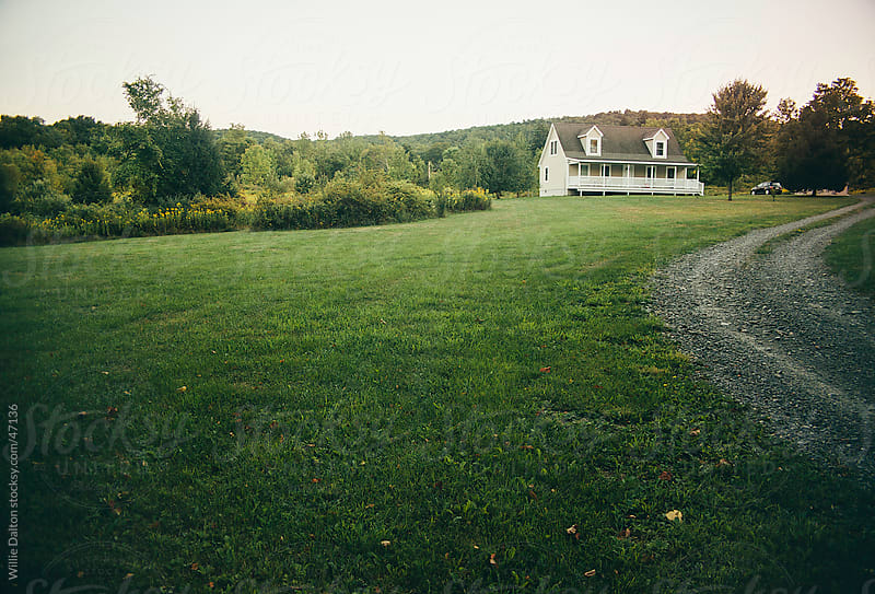 Estate in Rural New York by Willie Dalton for Stocksy United