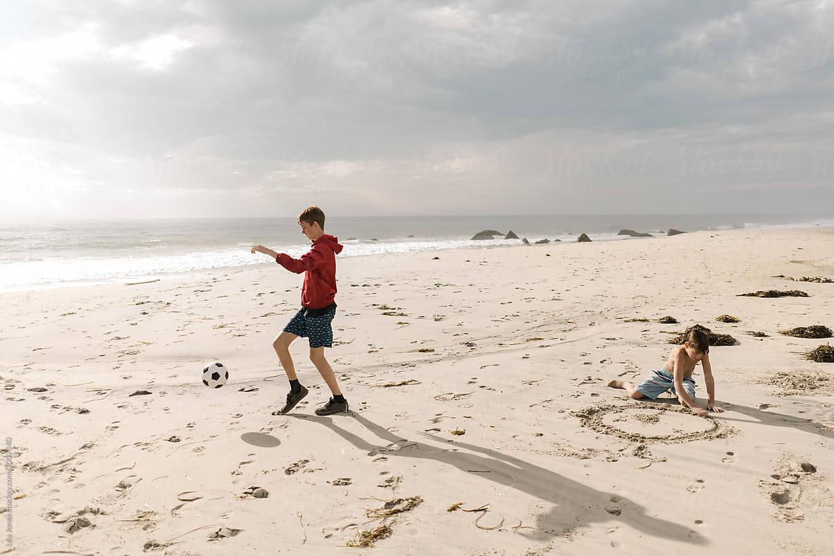 Teen pics beach Semi