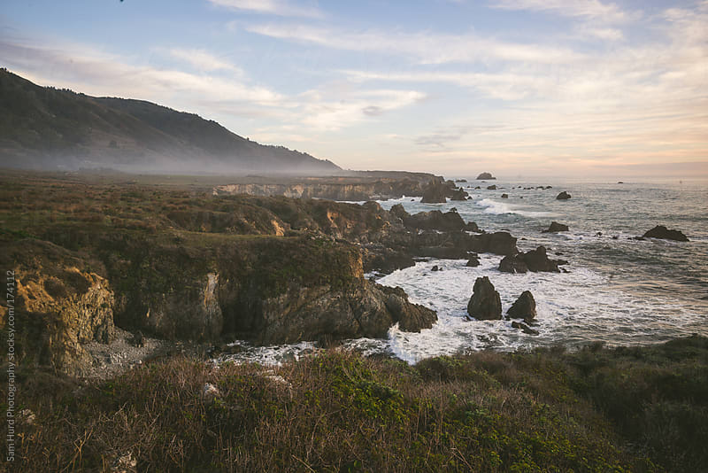 coastline of big sur by Sam Hurd Photography for Stocksy United