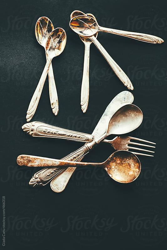silverware by Giada Canu for Stocksy United