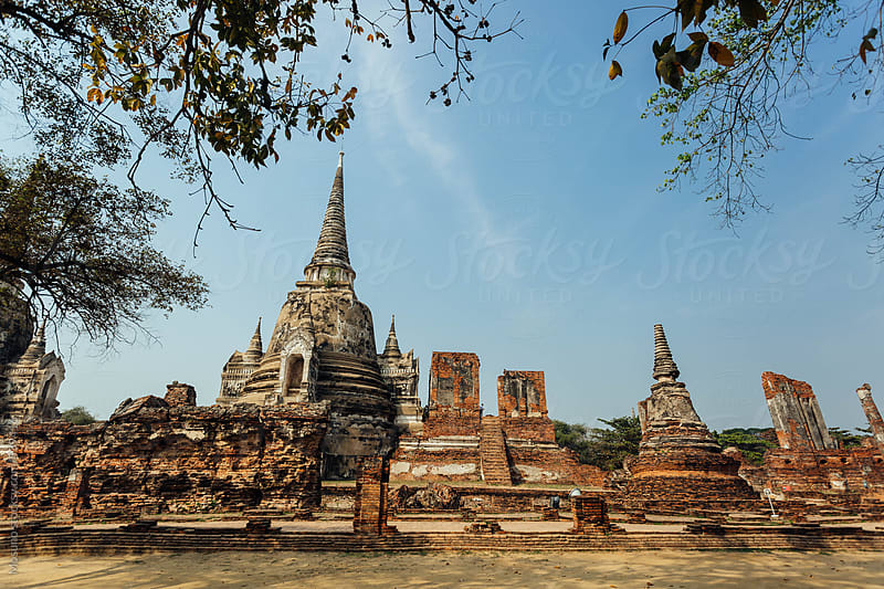Ancient City of Ayutthaya by Mosuno for Stocksy United