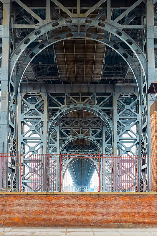 Williamsburg Bridge in Brooklyn by Good Vibrations Images for Stocksy United