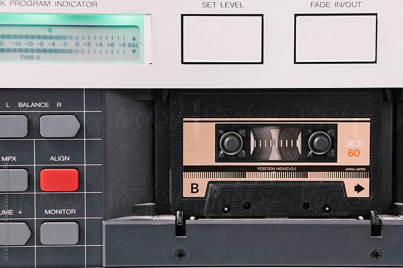 Cassette Tape Deck by Urs Siedentop & Co for Stocksy United