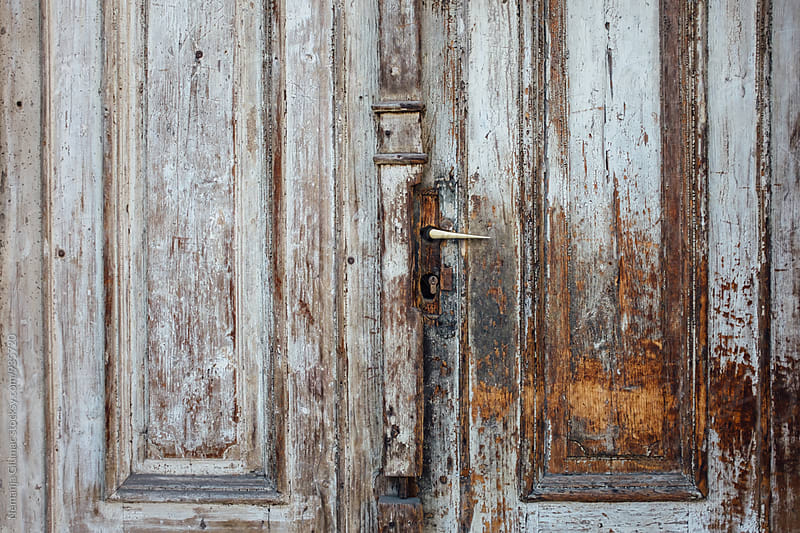 Beautiful Old Wooden Door by Nemanja Glumac for Stocksy United