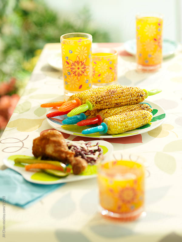Summer Buffet by Jill Chen for Stocksy United