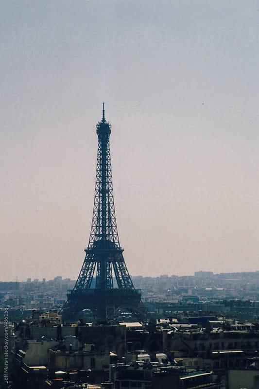 Eiffel Tower by Jeff Marsh for Stocksy United