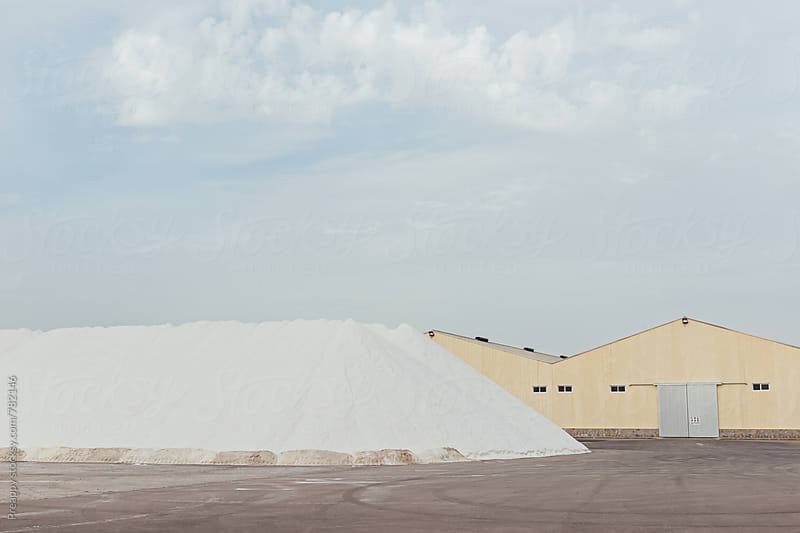 Salt production of San Pedro del Pinatar, Murcia, Spain by Preappy for Stocksy United