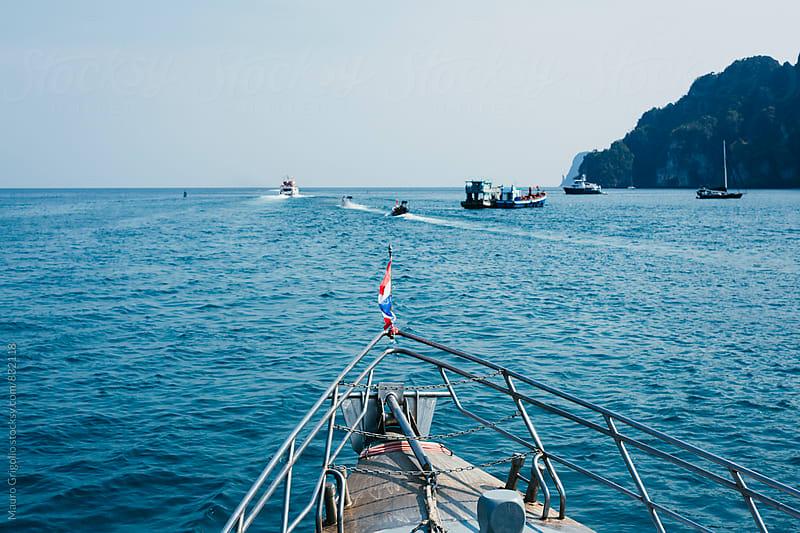 Boat trip by Mauro Grigollo for Stocksy United