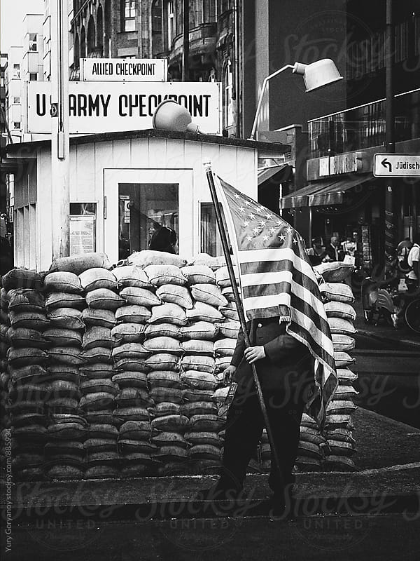 At Checkpoint Charlie by Юрий Горяной for Stocksy United