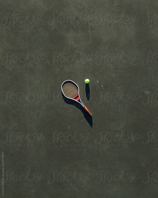Tiny Tennis by Connor Dwyer for Stocksy United