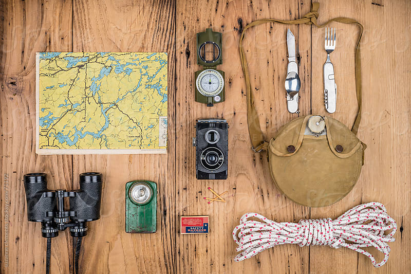 Camping and Hiking Gear for those Seeking Adventure by suzanne clements for Stocksy United