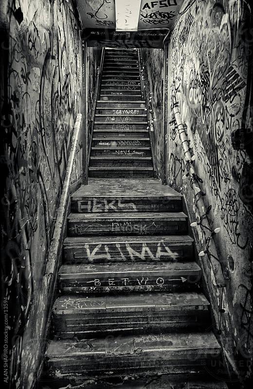Soho Stairway by alan shapiro for Stocksy United