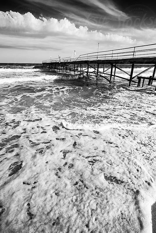 Old pier by MEM Studio for Stocksy United