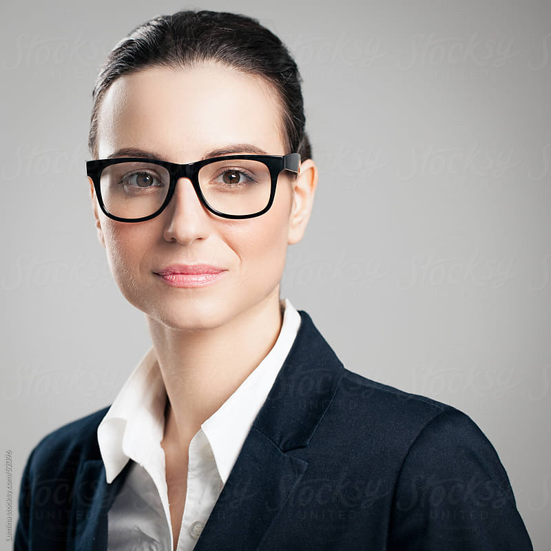 Businesswoman with Glasses by Lumina for Stocksy United