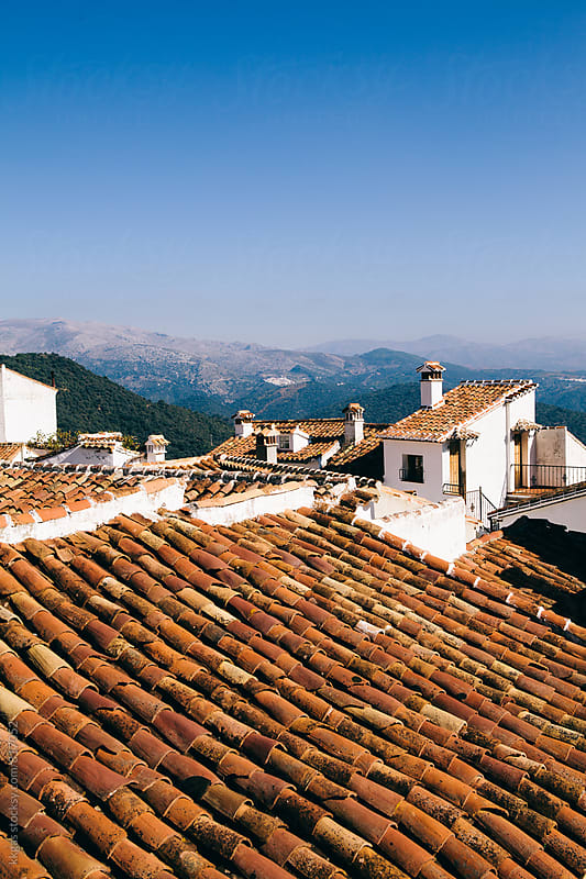 Pueblos Blancos in Andalucia Spain by kkgas for Stocksy United