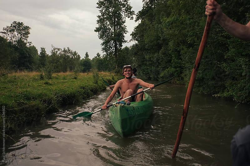 canoe by Paul Schlemmer for Stocksy United