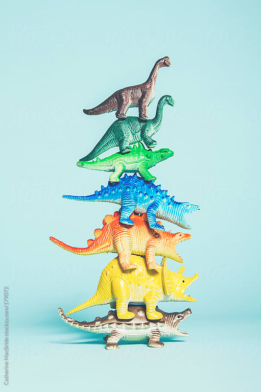 Stackosaurus by Catherine MacBride for Stocksy United