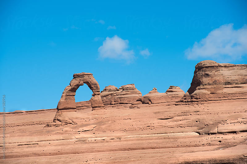 Arches National Park Moab Utah by Jean-Claude Manfredi for Stocksy United