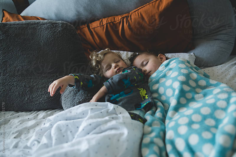 Sweet sleeping babes by Courtney Rust for Stocksy United