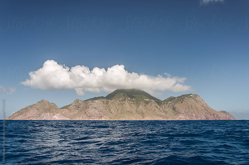 Island of Saba in Caribbean by Matthew Spaulding for Stocksy United