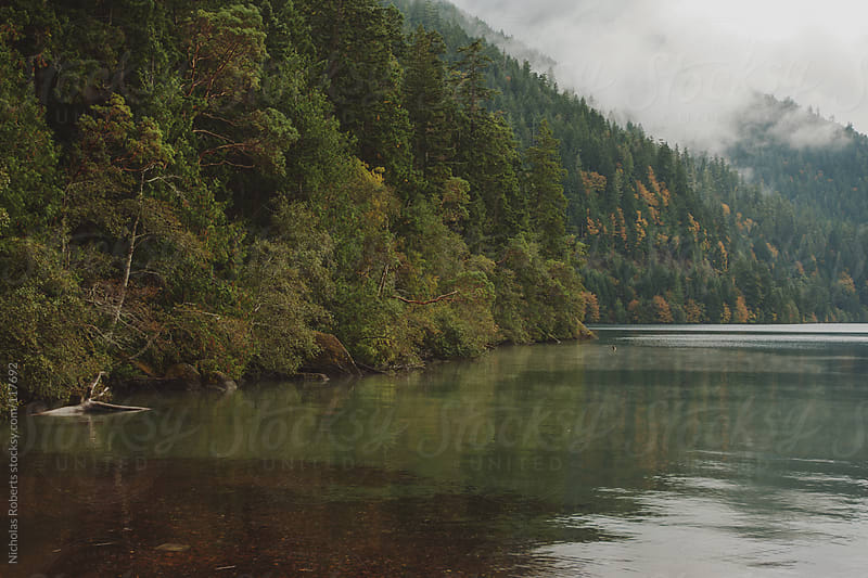 Lake Crescent by Nicholas Roberts for Stocksy United