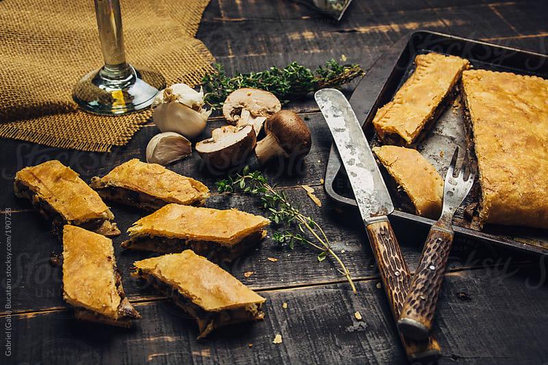 Mushroom Pastry by Gabriel (Gabi) Bucataru for Stocksy United
