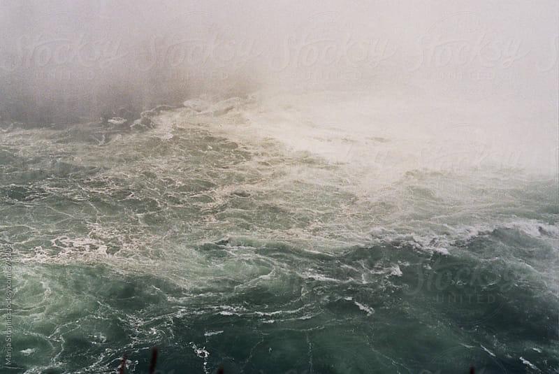 Waterfall bottom by Marija Strajnic for Stocksy United