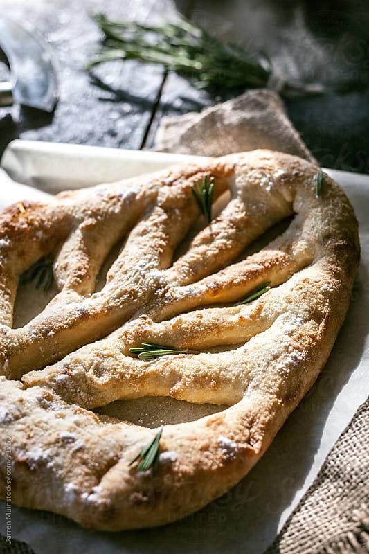 Homemade Fougasse Bread. by Darren Muir for Stocksy United