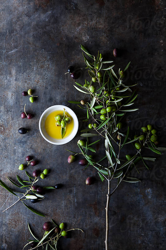 Olive oil by Nadine Greeff for Stocksy United
