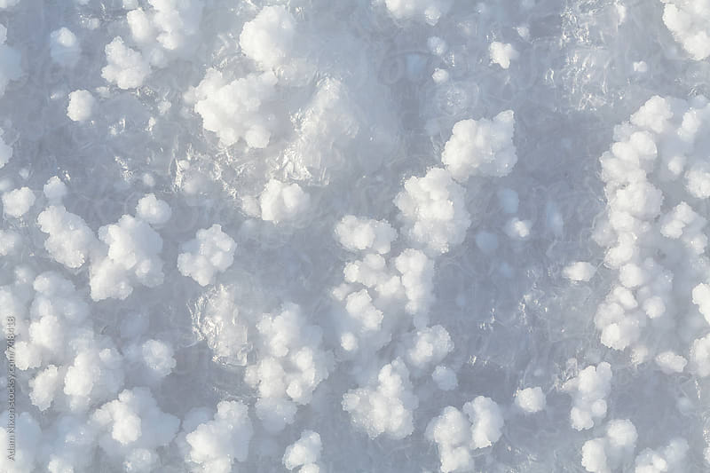 Salt flats, close-up by Adam Nixon for Stocksy United