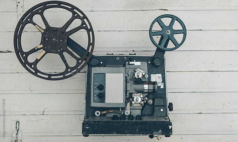 16mm cinema projector by kkgas for Stocksy United