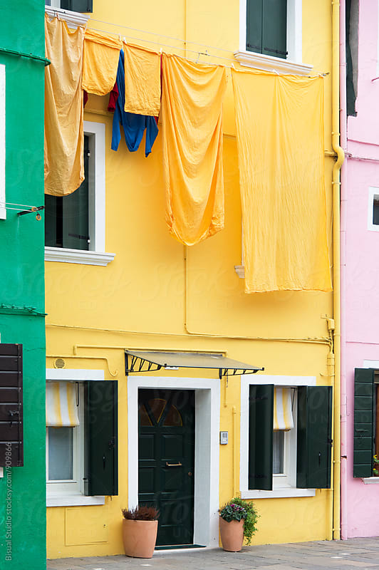 Colorful street by Bisual Studio for Stocksy United