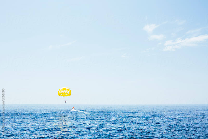 Sea gliding in the Mediterranean by Maja Topcagic for Stocksy United
