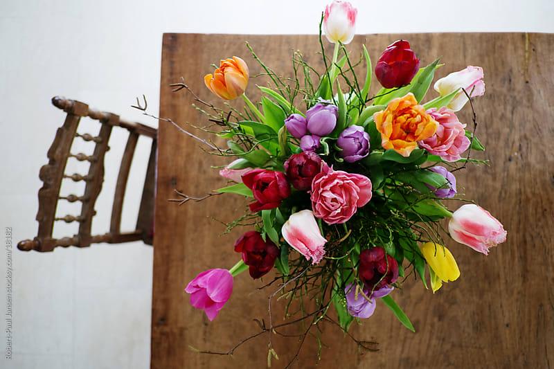 Tulips. by Robert-Paul Jansen for Stocksy United