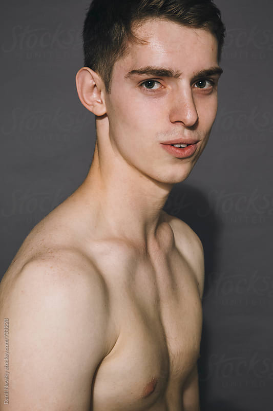 Naked guy in the studio by Danil Nevsky for Stocksy United