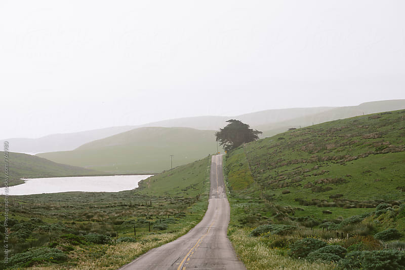 Peaceful road by Isaiah & Taylor Photography for Stocksy United