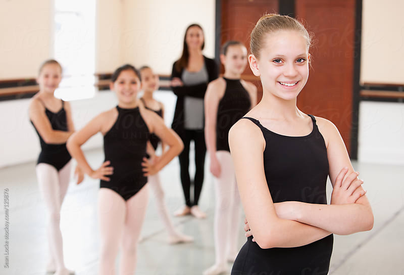 Ballet: Student and Ballet Classmates by Sean Locke for Stocksy United
