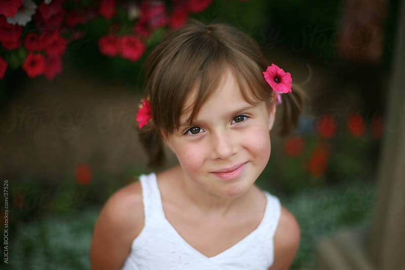 Flower Girl by ALICIA BOCK for Stocksy United