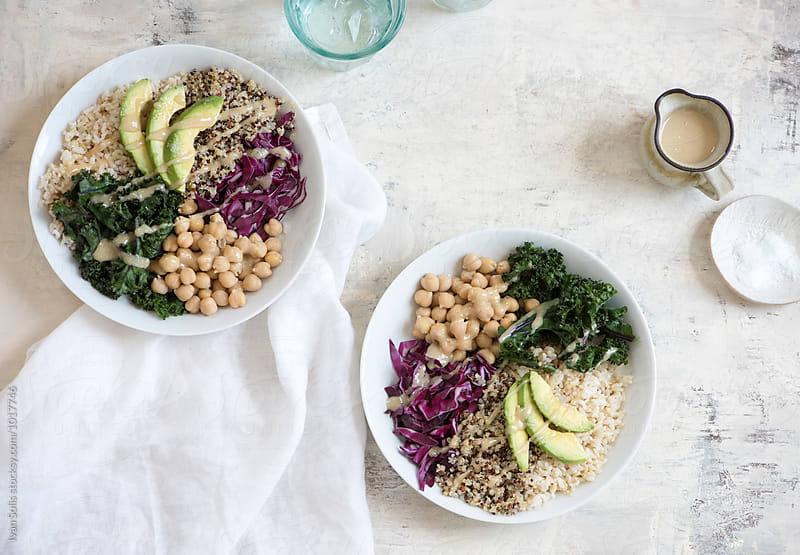 Vegan bowl by Ivan Solis for Stocksy United